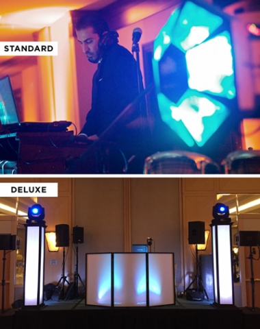 DJ Sevag at a wedding