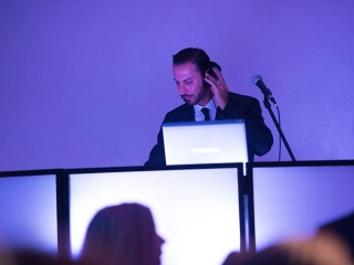 DJ Sevag in the mix at a Wedding