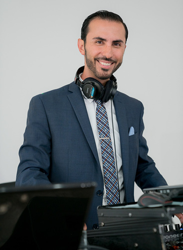 DJ Sevag at a Wedding